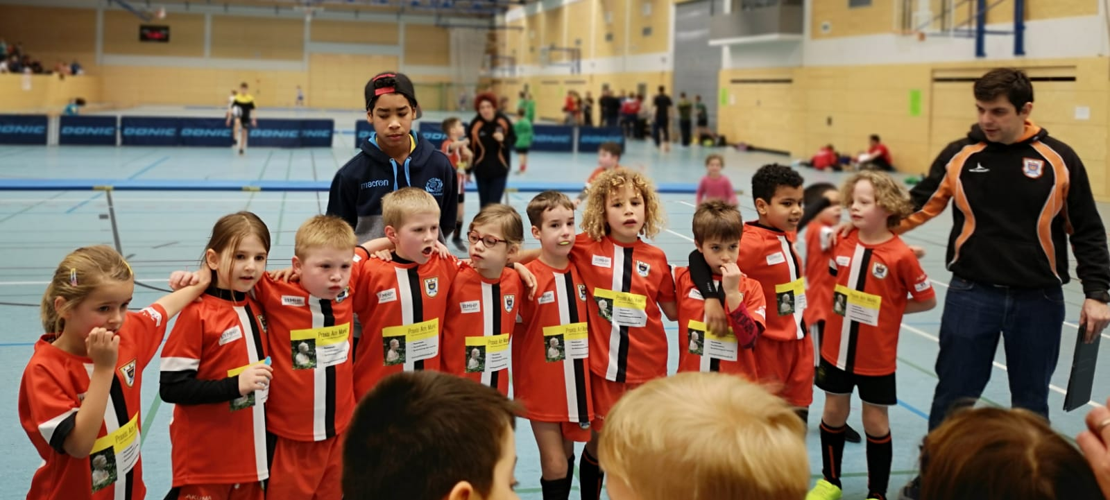 RG-Heidelberg U8-Jugend Turnier-Team-Orange 2019